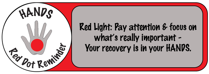 Hand - Red Dot Reminder