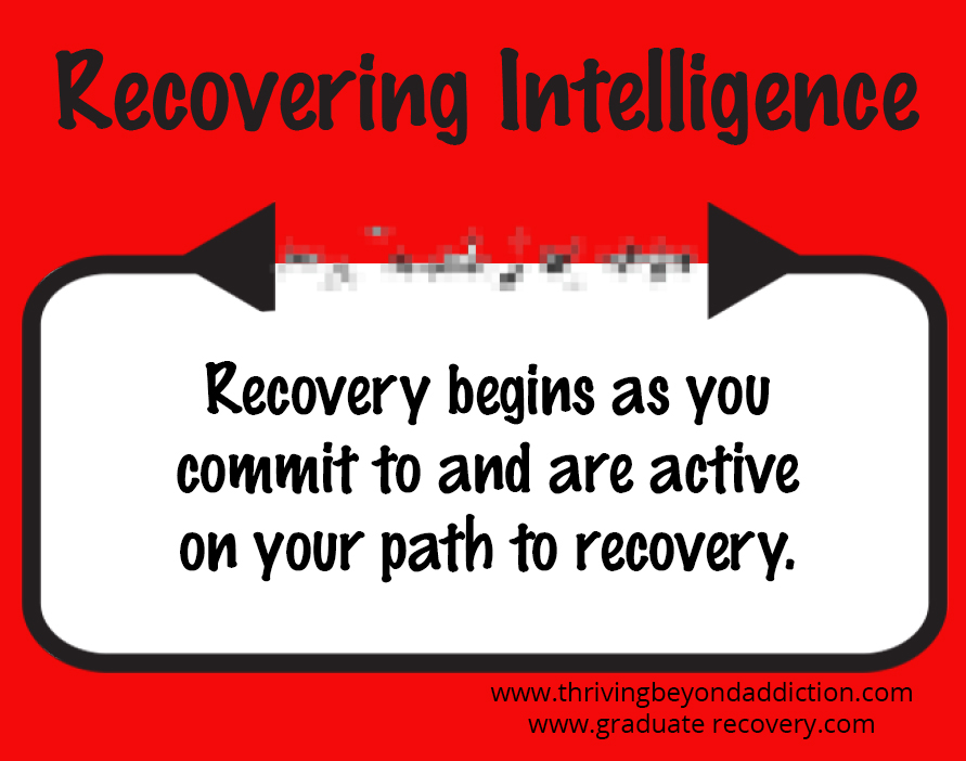 Recovery begins as you commit!