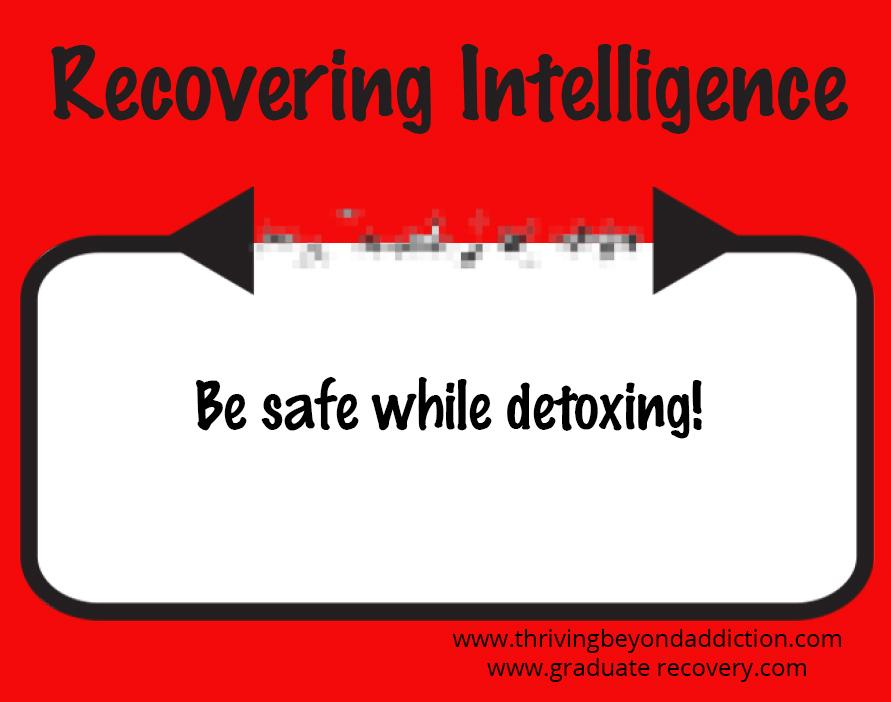 Detox Safely