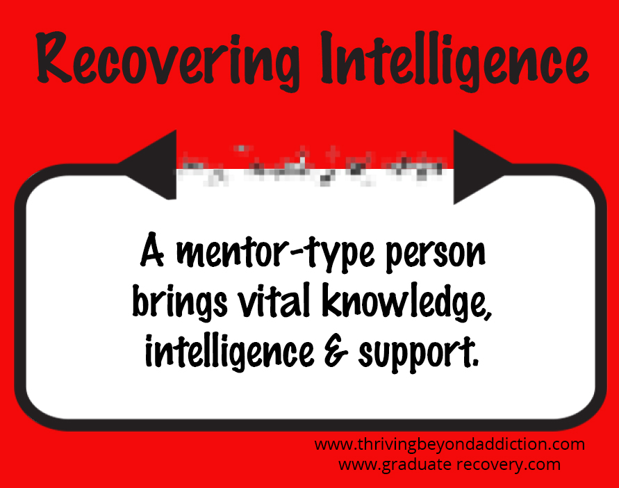 A mentor-type person brings vital knowledge, intelligence and support.